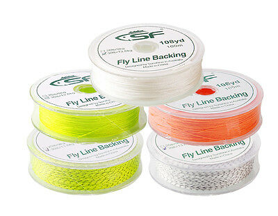 SF 30/20 LB 100M PE Dacron Braided Fly Fishing Backing Line Salmon Trout