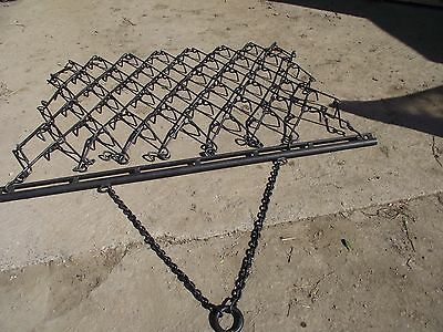 Chain Harrows - Trailed & Fixed Tine