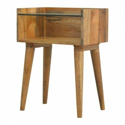 Retro/Urban/Rustic/Solid wood Nordic Design 4 Drawer Bedside table chest