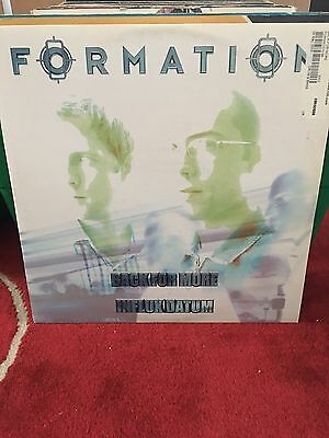 """Influx Datum Back for More/Alright 12"""" Vinyl formation Records Drum and Bass D&B"""