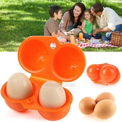 Practical Egg Storage Box For 6-12 Egg Case Container Outdoor Camping Carrier T9