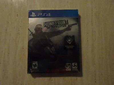 Homefront: The Revolution Bonus Sony PlayStation 4 w/ Steel Case PS4 NEW!