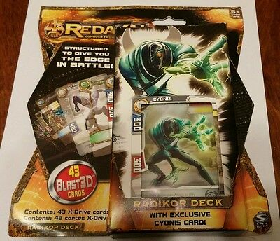 Redakai : Radikor Starter Deck - New / Sealed