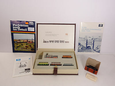 Piko Modellbahn HO Scale Saxonia 150 Year Collector Set with Manual Catalog