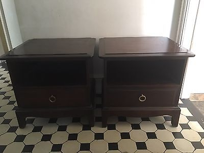 Stag Minstrel Bedside Tables Pair
