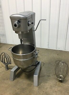 REBUILT Hobart 30qt Mixer - D-300 - Includes Stainless Steel Bowl, Paddle, Whip