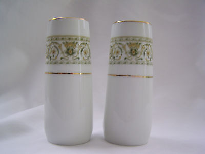 Felicity by Daniele Fine China salt and pepper shakers