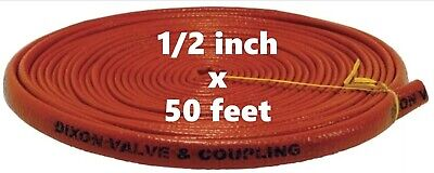 DIXON 1310-8 Fire Jacket for Hose 1/2 inch x 50'