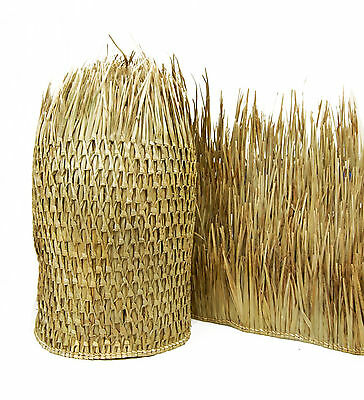 "27' Tiki Bar Hut Mexican Palm Thatch Runner Roll 36""H x 27 L Commercial Grade"