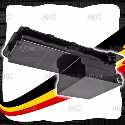 Black Steel 7 Quart Oil Pan For An -10 Fitting Chevy Gm Ls Engines