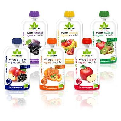 Bioitalia organic Smoothie Six flavors