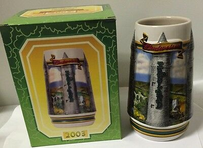2003 BUDWEISER ST PATRICK'S DAY STEIN TRADITION AND HERITAGE mug CS531