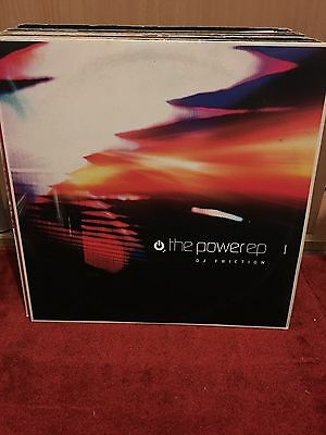 """DJ Friction The Power EP 2x12"""" Charge Recordings 2002"""