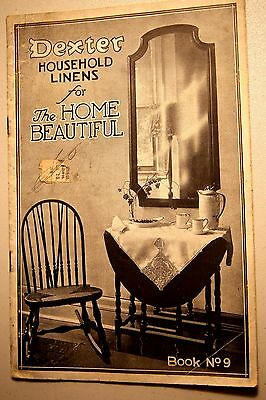 Dexter Household Linens for the Home Beautiful - 1920 brochure