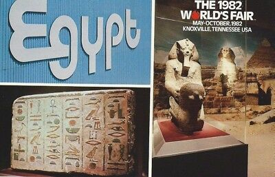 """Egypt"" 1982 World's Fair Postcard"