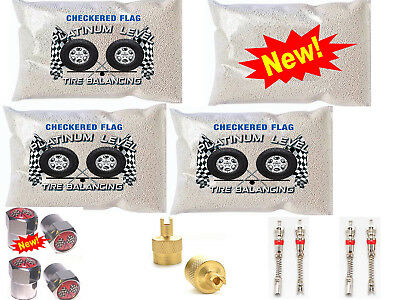 Tire Balancing Beads Ceramic Dynamic Balance 4 - 8oz bag kit $5 Free Offer