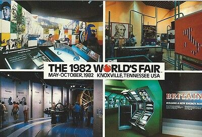 """European Economy Community"" 1982 World's Fair Postcard"