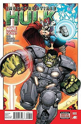 Indestrucible Hulk # 8 (Jul 2013), Nm