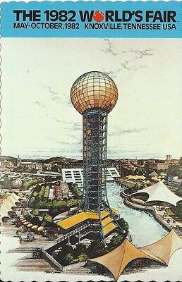 """SunSphere"" 1982 World's Fair Postcard"