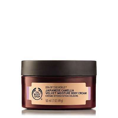New Vegetarian The Body Shop Spa Of The World Japanese Camellia Cream