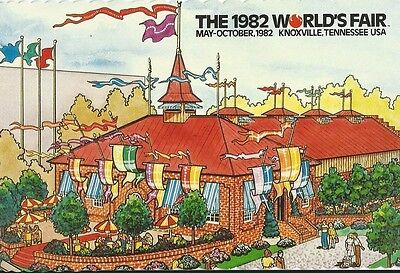 """Wunderbar"" 1982 World's Fair Postcard"