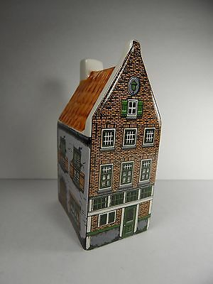Agro Old Dutch Ceramic Miniature Canal House Hand Painted Made in Holland. #5