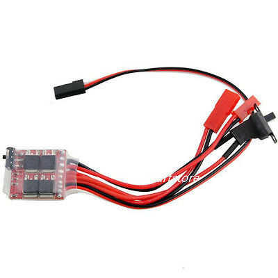 Brushed Speed 30A ESC Controller With Brake For 1/16 1/18 1/24 RC Car Boat RC