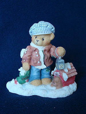 Cherished Teddies - Rich - Boy With Dog House - 352721 - 1998