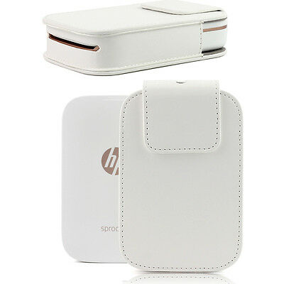 Protect PU Leather Case Cover Carrying Bag For HP Sprocket Model Photo Printer