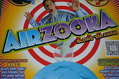 BRAND NEW AirZooka - A Harmless Ball of Air Up To 20 Feet - Black - PICK UP ONLY