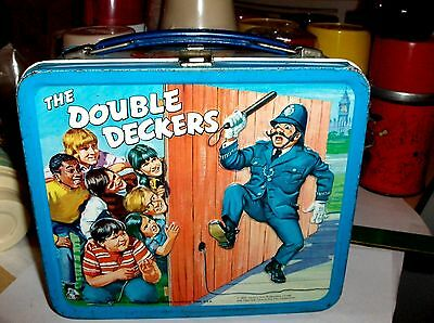 The Double Deckers`1970`Century Film Productions.`Aladdin-Metal Lunchbox-Free US