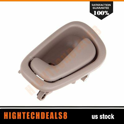 Beige Interior  Inside  Door Handle   for 98-02 Corolla