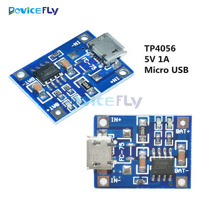 2/5/10PCS TP4056 Micro USB 5V 1A Lithium Battery Charging Board Charger Module