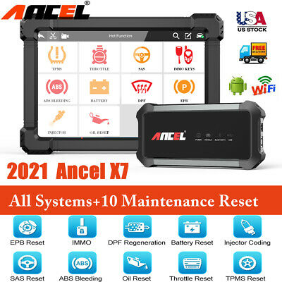 LAUNCH CR-HD Heavy Duty Truck Diagnostic tool Auto car Code Reader scanner US
