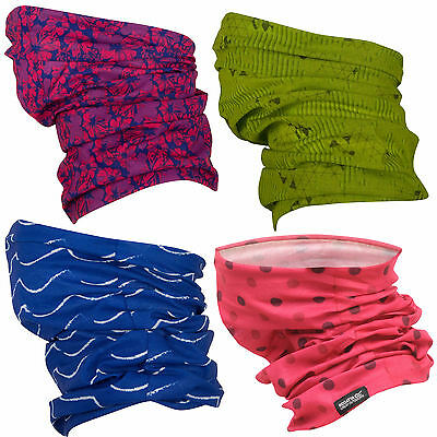 Regatta Kids Printed Multitube Neckwarmer Girls Boys Tube Scarf