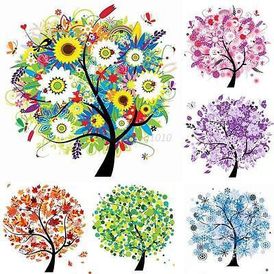 Colorful Tree DIY Diamond Embroidery Painting Cross Stitch Kit Craft Home Decor