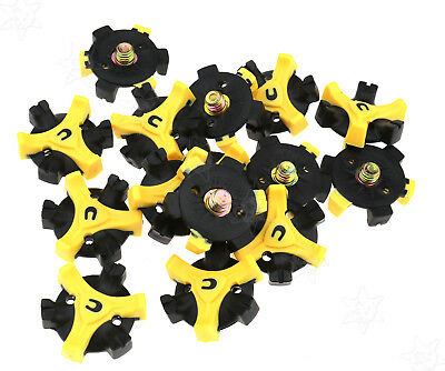 NEW Replacement 15pcs Golf Shoes Spikes Fast Twist Cleats Screw Studs