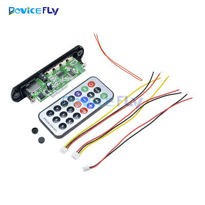 12V MP3 WMA Decoder Board Wireless Bluetooth Car USB TF FM Radio Audio Remote