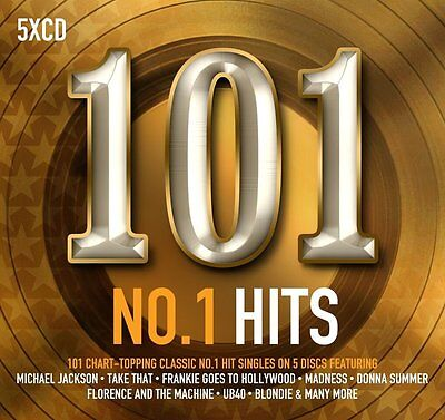 101 No. 1 Hits 5 Cd Set Various Artists - New Release September 2017