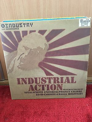 """Various Industrial Action Total Science Calibre 3x12"""" Industry Records D&B"""