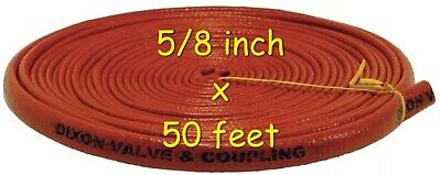 DIXON 1610-10 Fire Jacket for Hose 5/8 inch x 50'