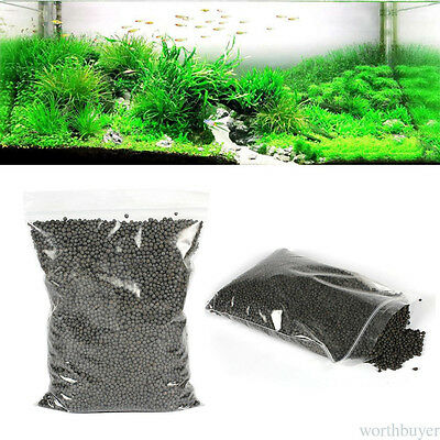 Water Grass Growing Soil Aquarium Sand Soil Plant Nutrient Soil 1 Bag 500g DF