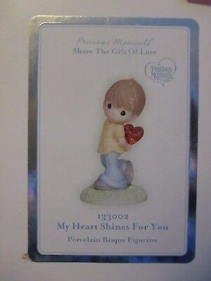 Precious Moments My Heart Shines For You Figurine #133002