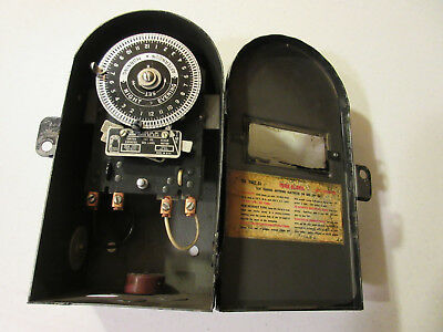 VINTAGE ELECTIC TIMER -- THE TORK CLOCK  CO., INC.  -- FROM THE 60s --