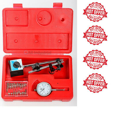NEW Dial Indicator, Magnetic Base & Point Precision Inspection Set