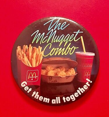 McDonald's Restaurants Pinback Button