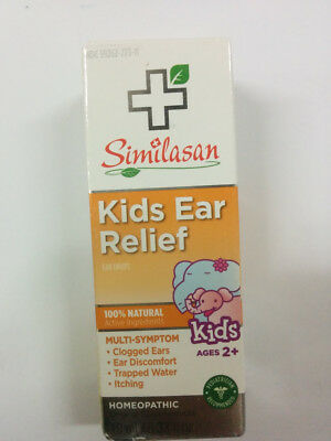 Similasan 100% Natural Kids Ear Relief, Homeopathic Original Swiss Formula