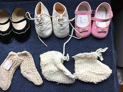 Vintage Baby/Children/Doll Shoes and Booties