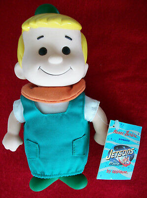 """Elroy Jetson Vinyl Doll /Figure 1990 Applause Hanna Barbera 7-1/2"""" Tall with Tag"""