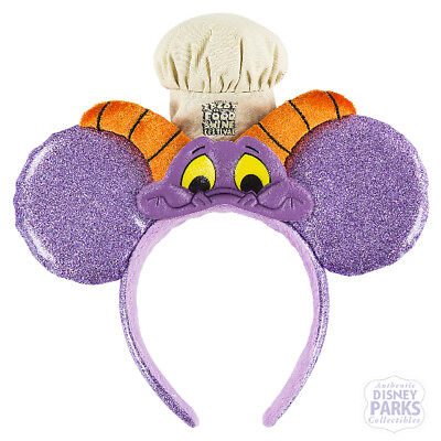Disney Parks 2017 Epcot Food and Wine Festival Figment Ears Ear Headband